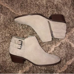 Sam Edelman Shoes - Sam Edelman Petal Suede Ankle Booties